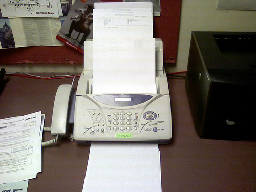 fax machine photo