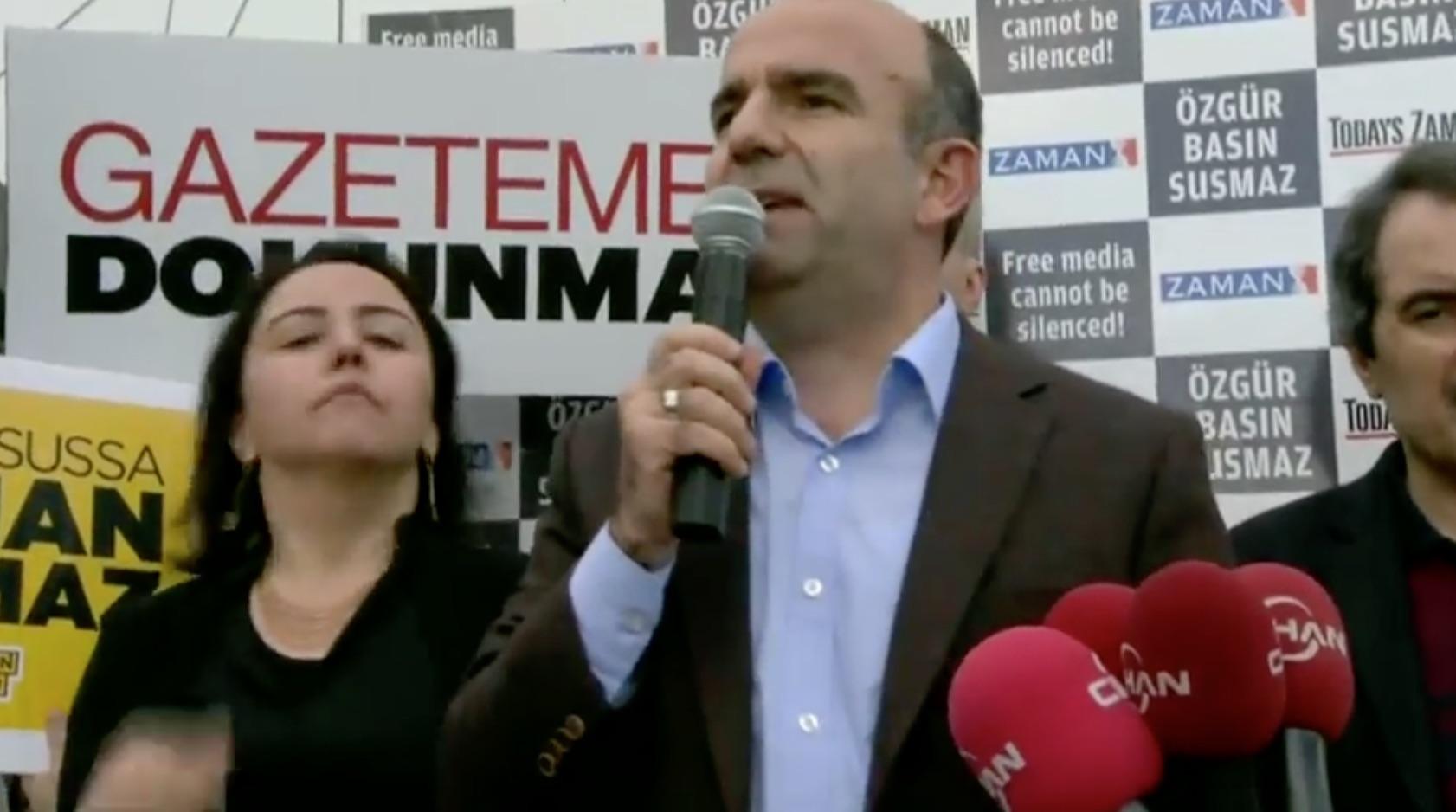 Albdülhamit Bilici: Editor-in-Chief, Zaman