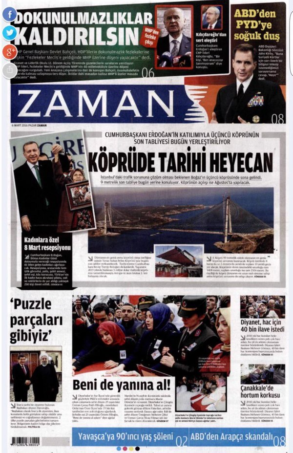 Pro-government Zaman
