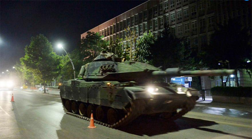 Coup tank